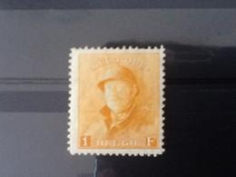 Nr.175* Albert I Met Helm. - 1919-1920 Trench Helmet