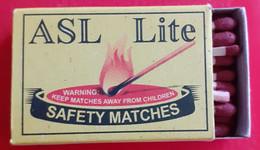 ROMANIA,IMPORT-ASL LITE - Matchboxes