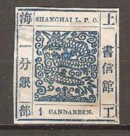 Timbre De 1865/66 ( Shanghai ) - Ungebraucht