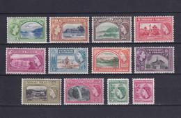 TRINIDAD & TOBAGO 1953/59, SG# 267-278, CV £40, Nature, Architecture, MH - Trindad & Tobago (...-1961)