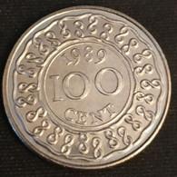 SURINAME - 100 CENTS 1989 - Neuve - UNC - KM 23 - Surinam 1975 - ...