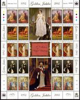 ISLE OF MAN IOM - 2002 QUEEN ELIZABETH GOLDEN JUBILEE SOUVENIR SHEET FINE MNH ** - Man (Insel)