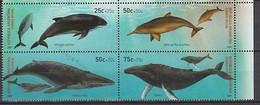 ANTARCTIQUE - ARGENTINE 2001 Cétacés, Baleines, Dauphins ... - Yv. 2246/49 ** - Non Classés