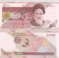 Iran - 5000 Rials 2009 UNC Sat Pick 150 Lemberg-Zp - Iran