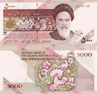 Iran - 5000 Rials 2007 UNC Pick 145f Flowers Lemberg-Zp - Iran