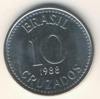 BRASIL 1988: 10 Cruzados, KM 607 - Brasile