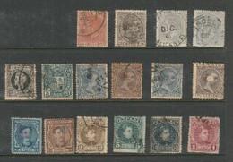 Spain,16 Used Stamps - Sammlungen