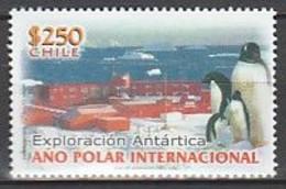 ANTARCTIQUE - CHILI 2008 Manchot Et Base - Yv. 1797 ** - Non Classés