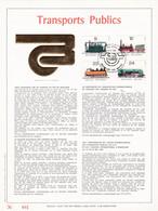 Exemplaire N°001 Feuillet Tirage Limité 500 Exemplaires Frappe Or Fin 23 Carats 2170 à 2173 SNCB Train Locomotives - Kleinbögen