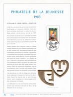 Exemplaire N°001 Feuillet Tirage Limité 500 Exemplaires Frappe Or Fin 23 Carats 2102 Village N°1 Reine Fabiola - Kleinbögen