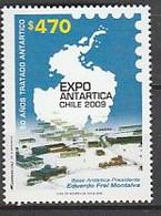 ANTARCTIQUE - CHILI 2009 Exposition Philatélique Polaire - Yv. 1883 ** - Non Classés