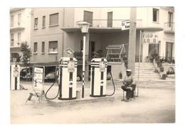 PHOTO/FOTO - Distributore Benzina A RIMINI - Miscela AQUILOTTO - Professions
