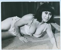 PHOTO PRESSE SABRINA KONG ACTRICE CHINOISE 1969 - Pin-ups
