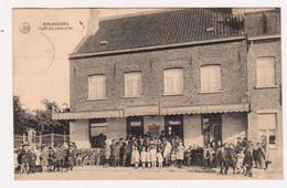 MELSBROECK : Café Du LION D'OR - Bien Animée Et Circulée En 1923 - 2 Scans - Steenokkerzeel