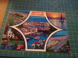 40895   Cartolina Di Riccione  Usata Per Concorso Vedi Retro - Rimini
