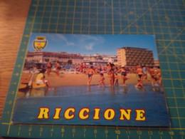 40952   Cartolina Di Riccione Usata Per Concorso Vedi Retro - Rimini