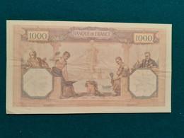 1000 Francs Cérès Et Mercure 12.01.1929 - 1 000 F 1927-1940 ''Cérès Et Mercure''