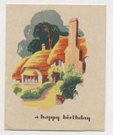 AJ56 Birthday Greeting - Cottage - Andere