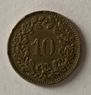 Susse - Monnaies Confédération -10c 1871 - TTB - Zwitserland