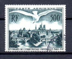 G2 France Oblitéré PA N° 20  à 10% De La Côte. A Saisir !!! - 1927-1959 Gebraucht