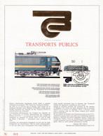Exemplaire N°001 Feuillet Tirage Limité 500 Exemplaires Frappe Or Fin 23 Carats 2174 Bloc 61 SNCB Locomotive Chemin Fer - Kleinbögen