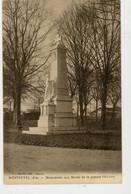 CPA: 01 - MONTEVEL - MONUMENT AUX MORTS DE LA GUERRE 1914-18 - - Sonstige Gemeinden