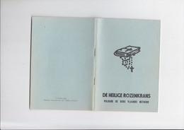 De Heilige Rozenkrans Volgens De Oude Vlaamse Methode - De Missiebode - Godsdienst & Esoterisme