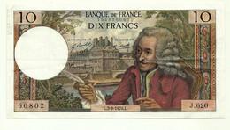 Francia - 10 Francs 1970 - 10 F 1963-1973 ''Voltaire''