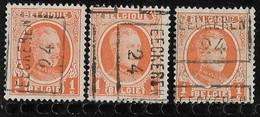 Eeckeren  1924 Nr. 3275ABC - Rollo De Sellos 1920-29