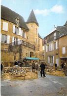 COMMERCE Marchés - 24 - SARLAT Le Marché Aux Oies / The Goose Market / Der Gänsemarkt - CPM Grand Format 1980 - Dordogne - Mercati