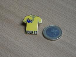 CYCLISME. TOUR DE FRANCE 1989. MAILLOT JAUNE. - Cycling