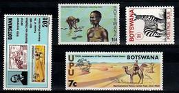 (032//602) Botswana / 1974-81 / Small / Petit Lot / Kleines Los ** / Mnh  Michel 6,00 - Botswana (1966-...)