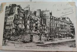 Thème PARIS / Histoire. Événements De La Commune 1871 Maisons De La Rue Royale... - Otros