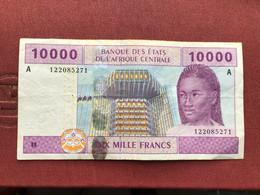 AFRIQUE CENTRALE Billet De 10000 Francs 2002 - Central African Republic