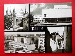 Vilnius - Gothikensemble Kulturpalast Bauarbeiter Raudonoji Armija Prospekt Burggasse - Litauen - Вильнюс Вільня Wilnja - Litauen