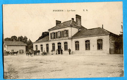 51 - Marne  - Fismes  - La Gare  (N2217) - Fismes
