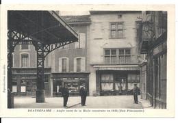 LA HALLE. ANGLE OUEST - Beaurepaire