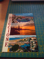 74533  Riccione  Vecchia Cartolina - Rimini