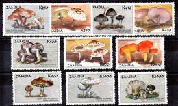 Zambia Serie Nº Yvert 757/66 ** SETAS (MUSHROOM) - Zambie (1965-...)