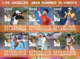 Stamps. Olympic Games 2028 In Los Angeles   Field Hockey - Hockey (su Erba)