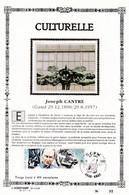 Feuillet Tirage Limité 400 Exemplaires 2389 Joseph Cantre Amay - Panes