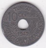 PROTECTORAT FRANCAIS. 10 CENTIMES 1942 En Zinc - Tunisie