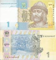 Ukraine 1 Hryvnia 2014. UNC - Ucraina