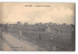 CPA 92 Antony Les Rabats Vue Générale - Antony