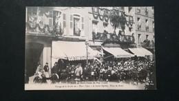 """43 - LE PUY - PASSAGE DE LA SOCIETE DES """"PETITS FIFRES """" DE Ste. SIGOLENE - PLACE DU BREUIL - Le Puy En Velay"""