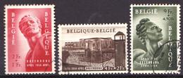 BELGIQUE - YT 943 / 945 - Monument - Complet 3 Valeurs - Oblitérés - Très Beaux - Used Stamps