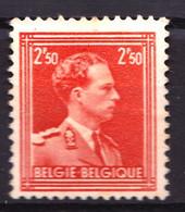 BELGIQUE - YT 1006 - 2F50 Rouge Léopold III - Neuf Sans Gomme - Très Beau - Unused Stamps