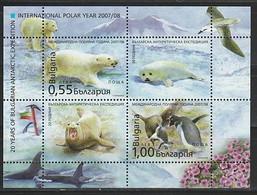 ANTARCTIQUE - BULGARIE 2008 Année Polaire Internationale - Yv. BF242 ** - Non Classés