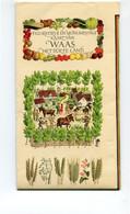 1975 Waasland - Land Van Waas Het Soete Land - Figuratieve Kaart Getekend  MARK F. SEVERIN - Sint Niklaas - Autres
