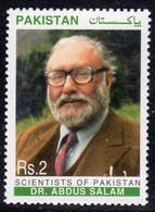 Pakistan 1998 Scientists Of Pakistan I, Dr. Abdus Salam, MNH, SG 1053 (E) - Pakistán